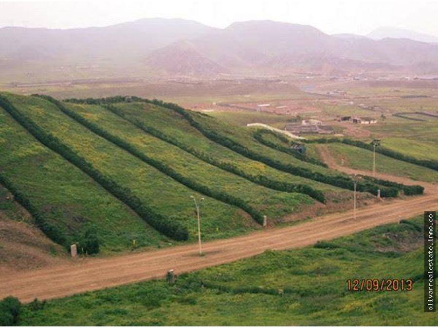 terreno en venta san fernando pachacamac lima