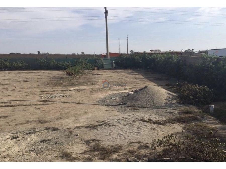 terreno en condominio rioja chincha