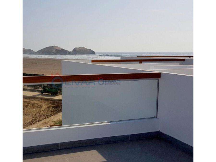 casas de playa en condominio frente al mar