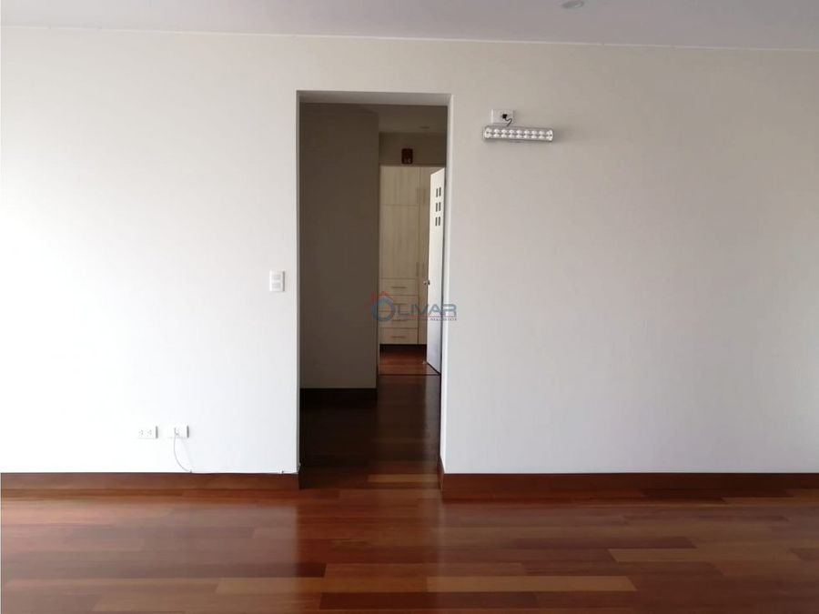 alquiler de elegante y moderno departamento san isidro