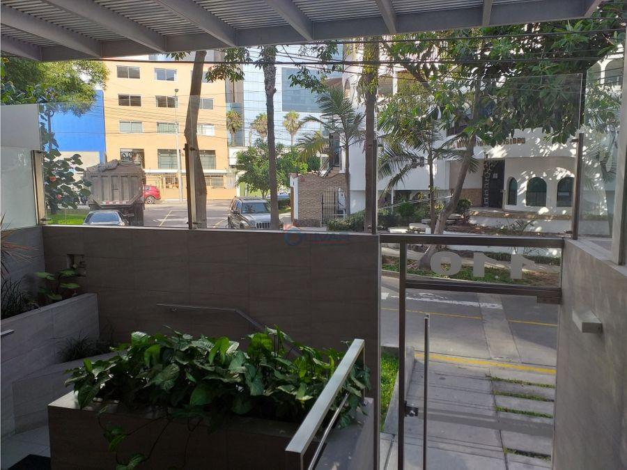 alquiler de moderno y acogedor departamento san isidro