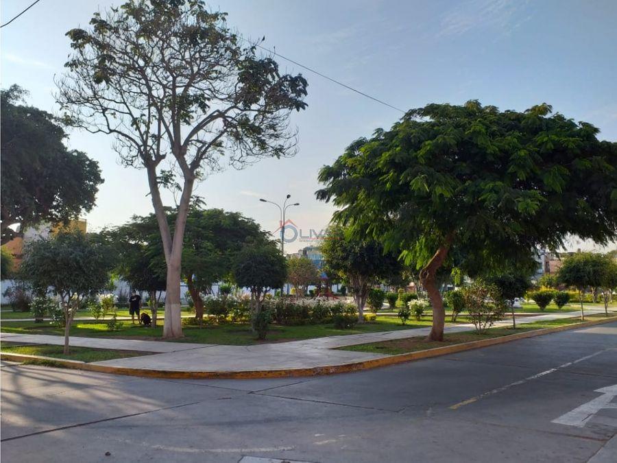 departamento frente a lindo parque la victoria