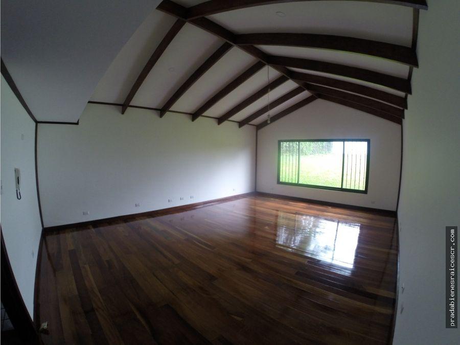 casa campestre estilo colonial en venta en san rafael de escazu