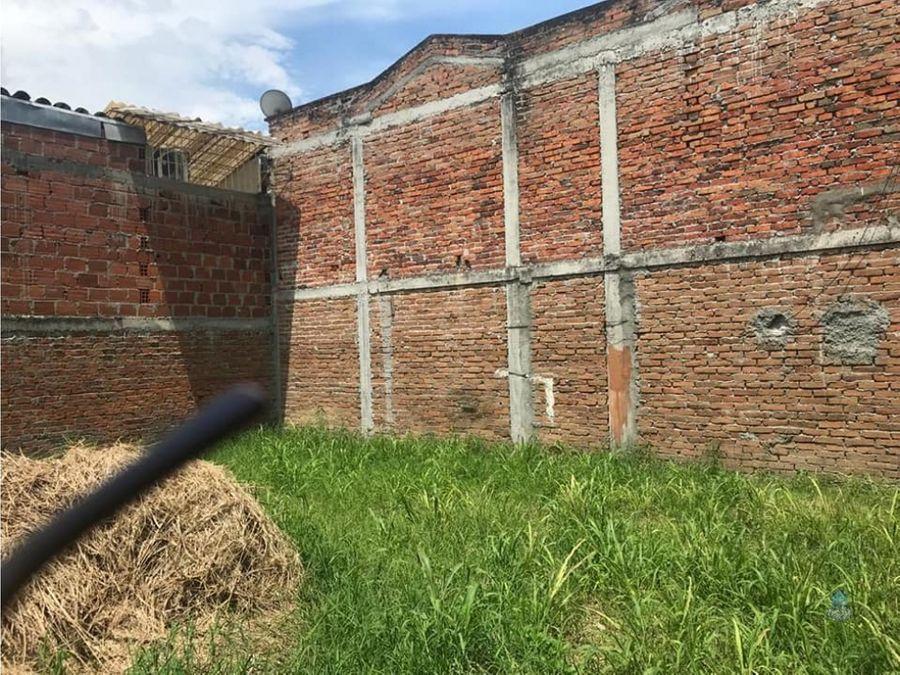 venta de lote urbano villa elena cartago valle