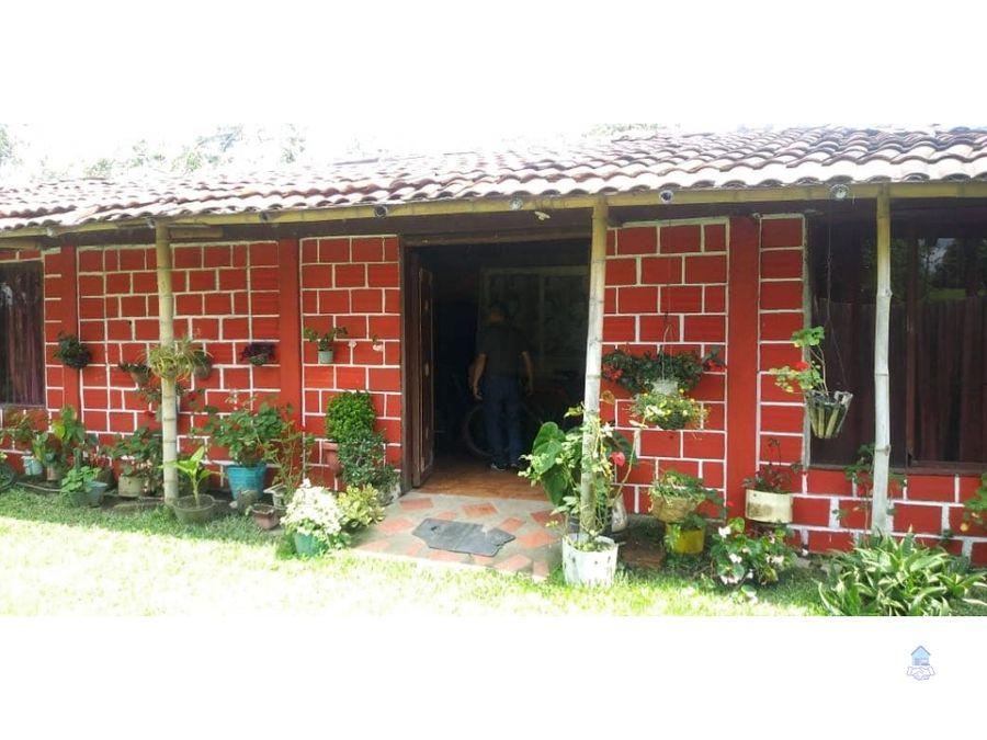 venta de finca el naranjal quimbaya quindio