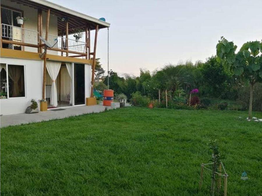 venta casa campestre pereira alcala