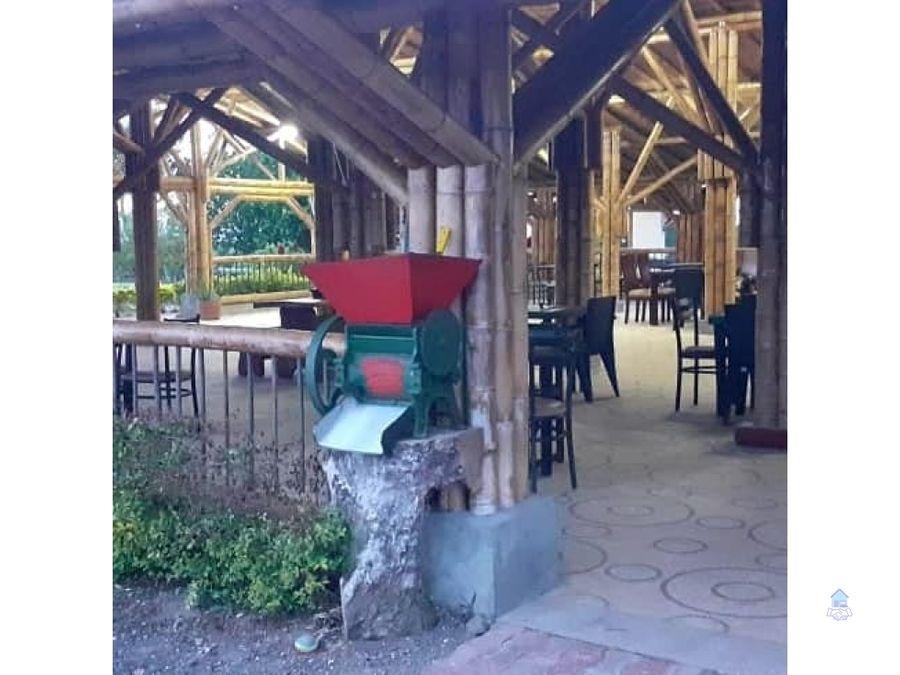 venta de hotel ecoturistico eje cafetero