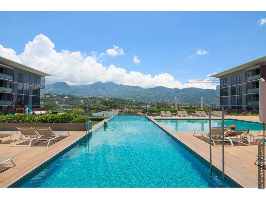 oportunidad dos habitaciones escazu village vista piscina