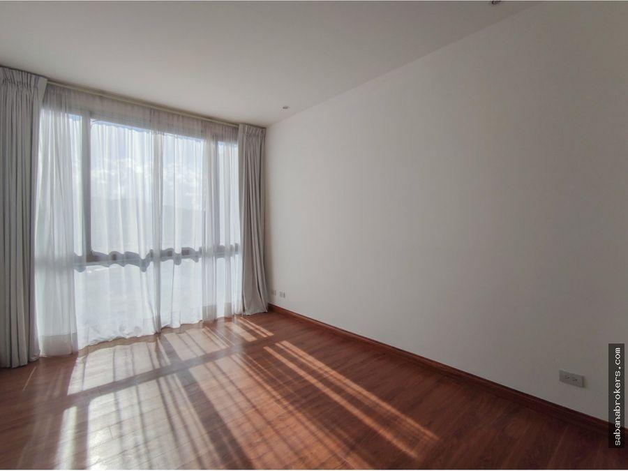 apartamento con habitacion mas ofician vistas de nuncitura