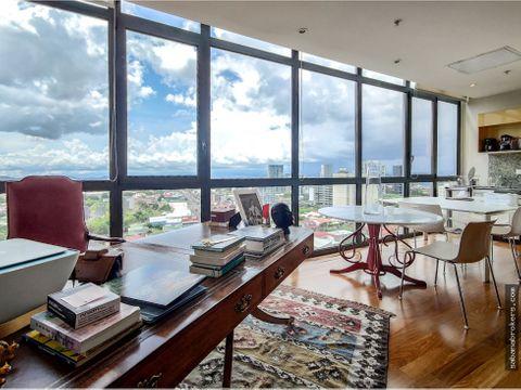 loft metropolitan tower vista atardecer