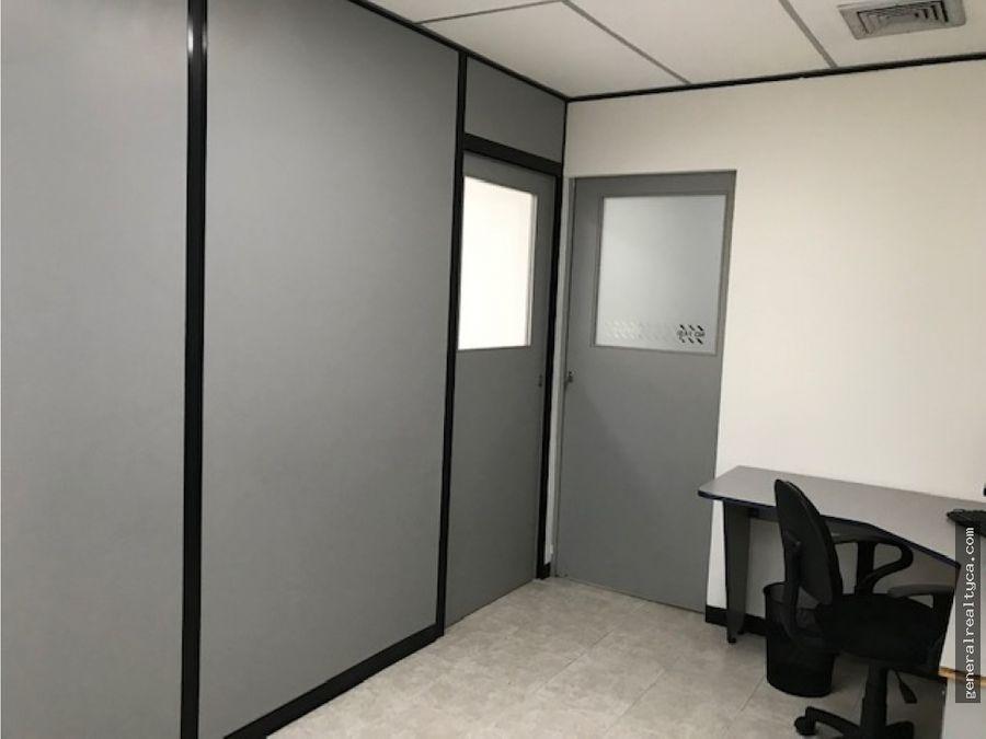 oficina en alquiler 63 m3 los samanes