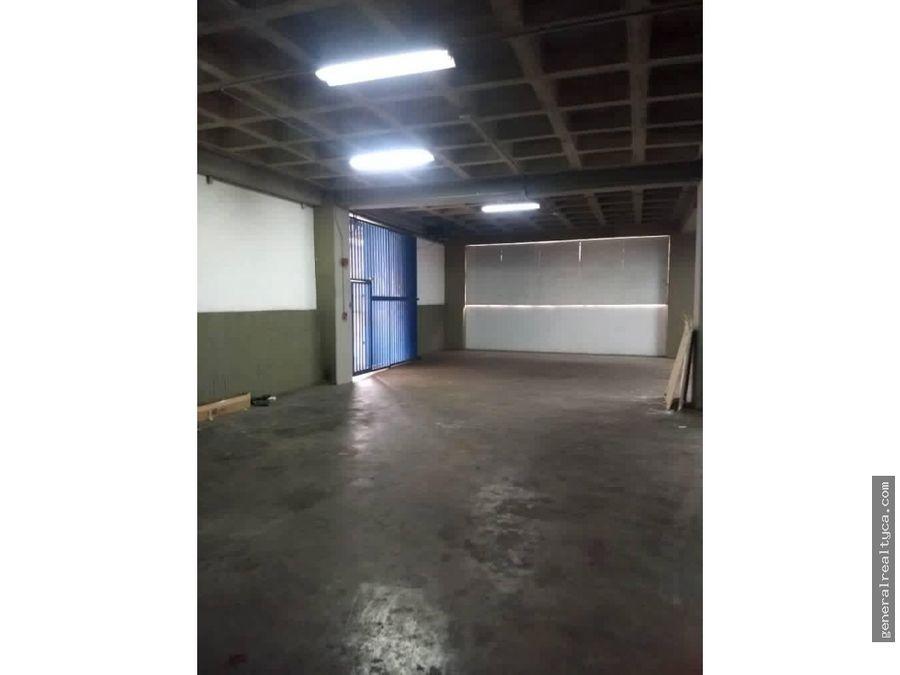 planta industrial en alquiler guaicay 875 m2