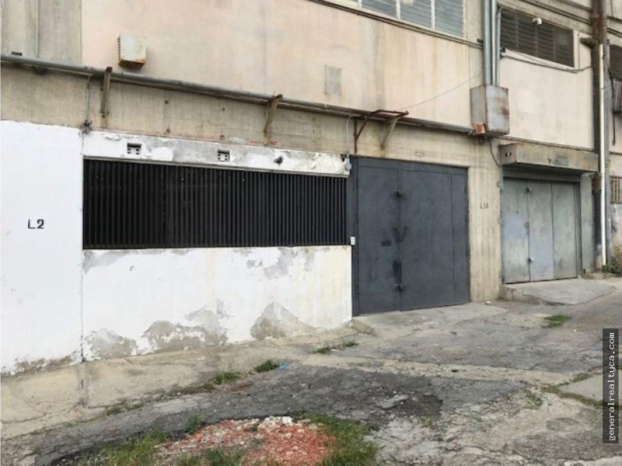 planta industrial en alquiler guaicay 400 m2