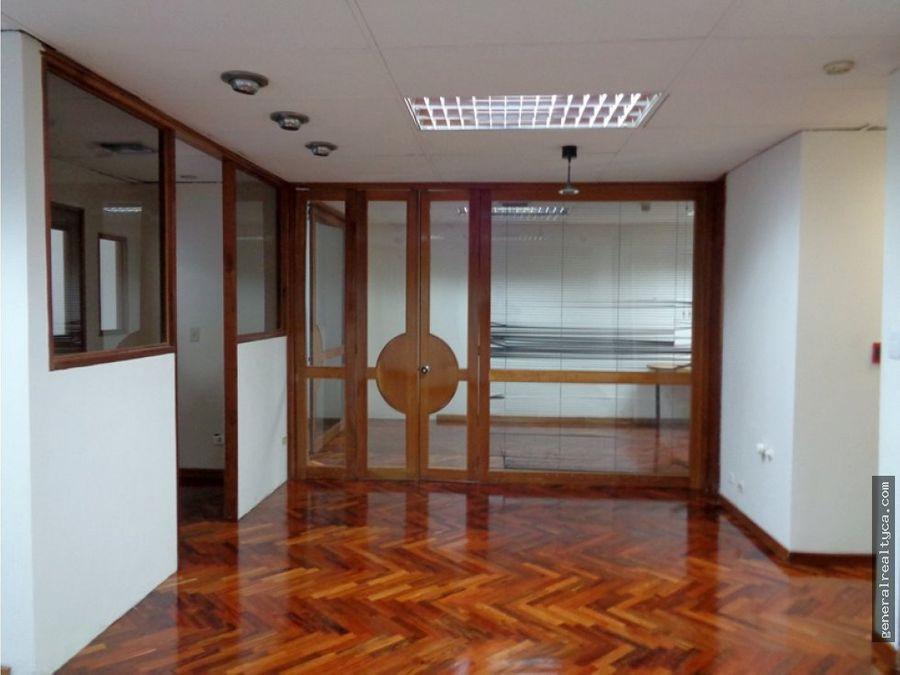 oficina en alquiler parque cristal 89 m2