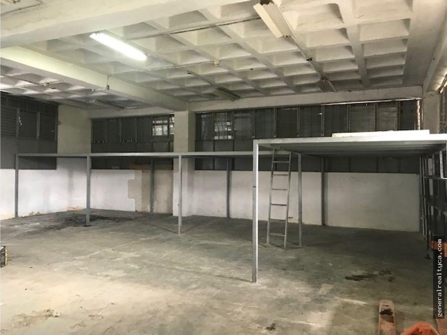 planta industrial en alquiler guaicay 250 m2