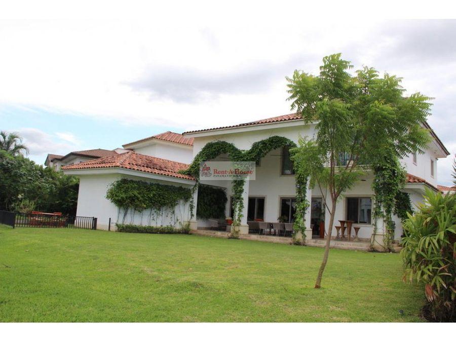 casa en alquiler en santa maria panama ep20 8458