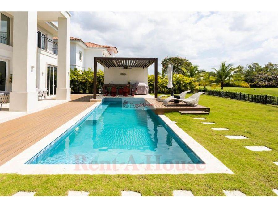 casa en venta en santa maria panama 21 4963