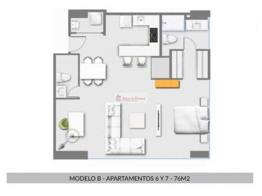 apartamento en costa del este en venta ep21 10133