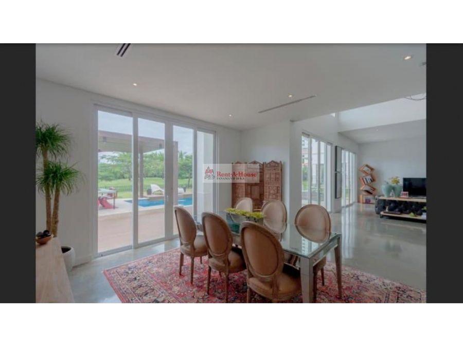 casa en venta en santa maria panama 21 3838
