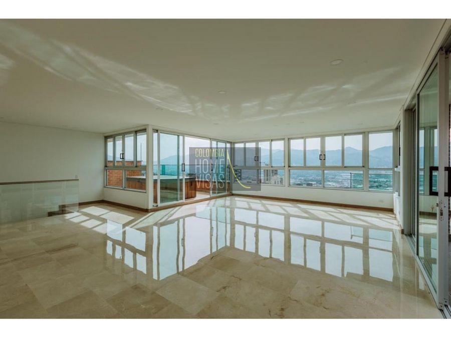 penthouse for sale poblado medellin