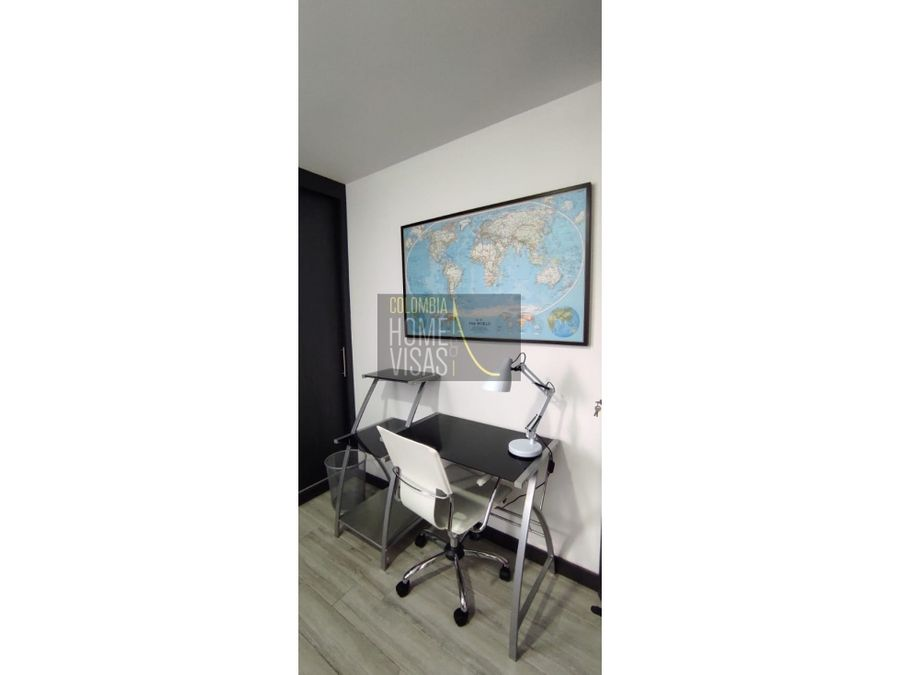 furnished apartment for rent malibu medellin
