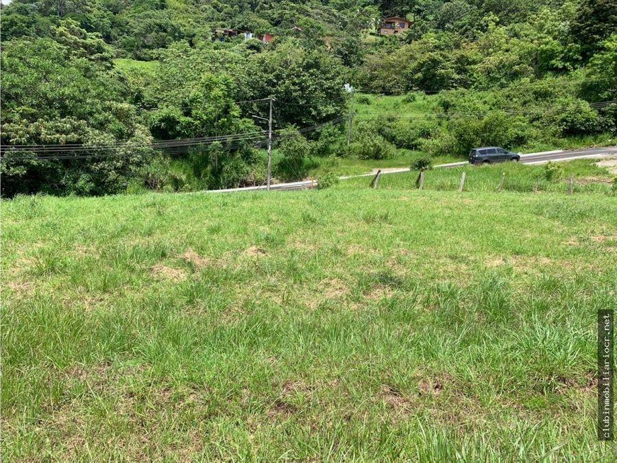 se vende terreno en jaboncillos de escazu impresionantes vistas