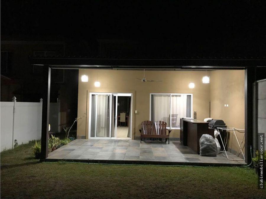 precio rebajado la guacima hermosa casa en venta