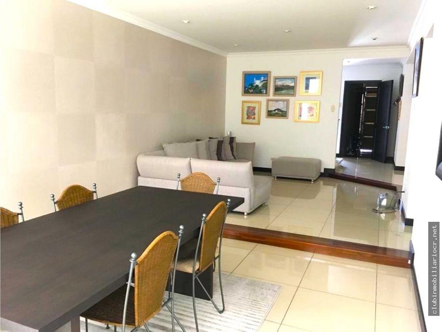 se vende preciosa casa en condominio trejos montealegre escazu
