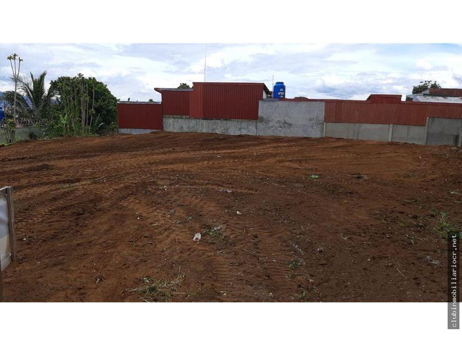terreno para construir con uso comercial y residencial