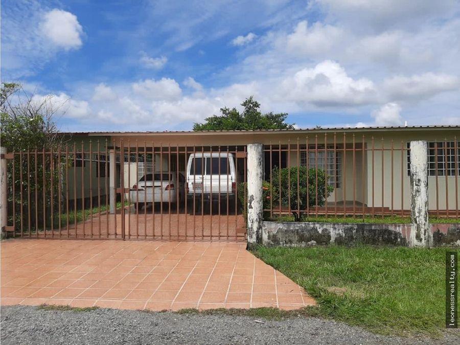 22 00711 se vende casa semiamoblada en chiriqui mls 13956