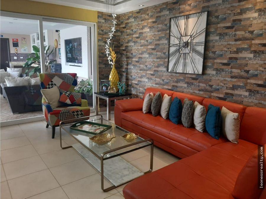 4 00662 exclusiva casa en p h residencial villa navona mls 13416