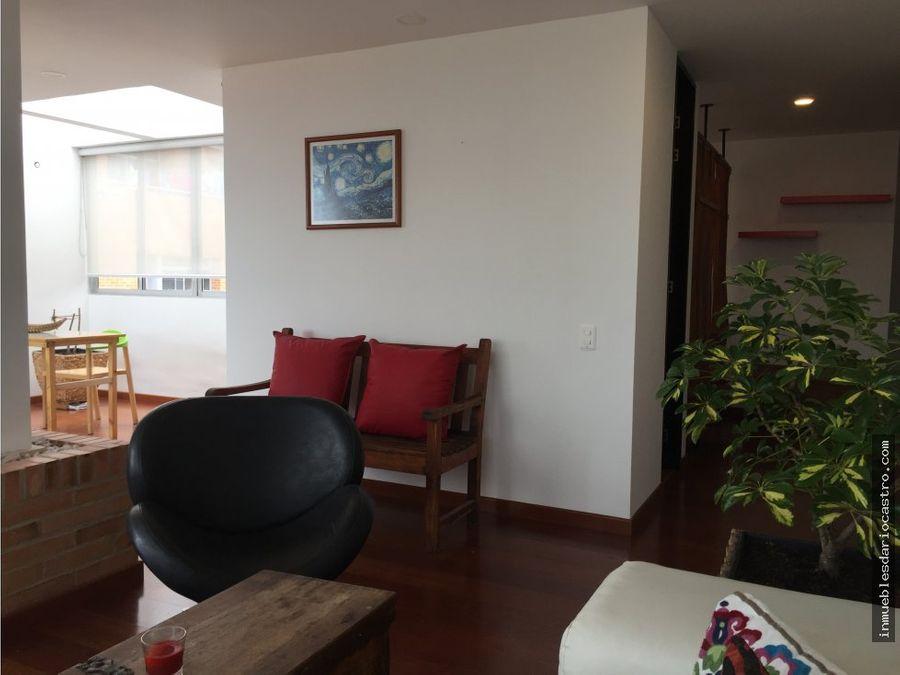 alquilo bonito pent house duplex chapinero alto
