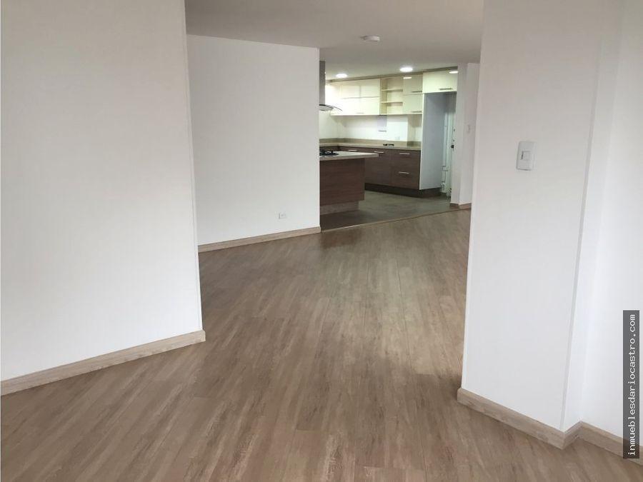 vendo apartamento remodelado en chico cll 100