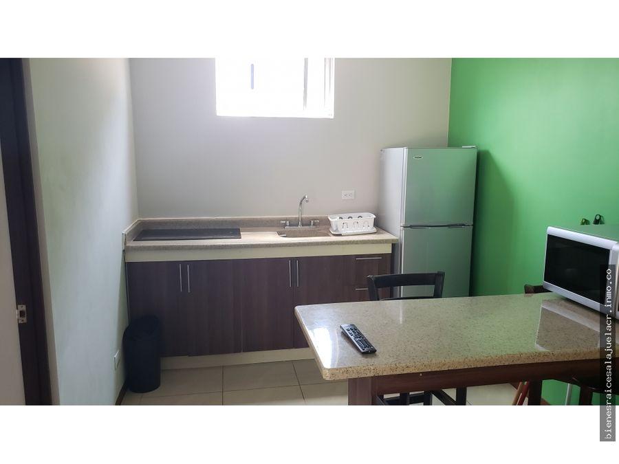 alquiler de apartamento amueblado en calle loria alajuela 300000