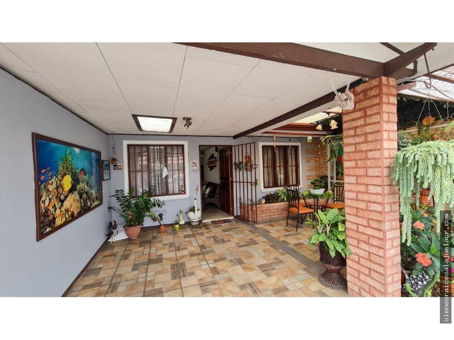 casa en venta urbanizacion sol casa de alajuela 135 m2 51000000