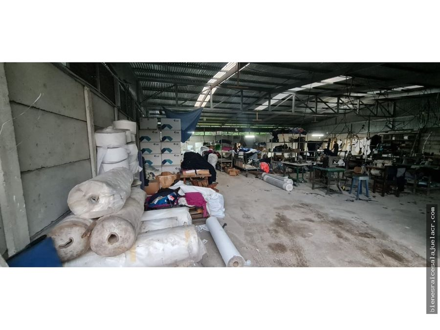 alquiler de bodega en el barrio san jose alajuela 300 m2 500000