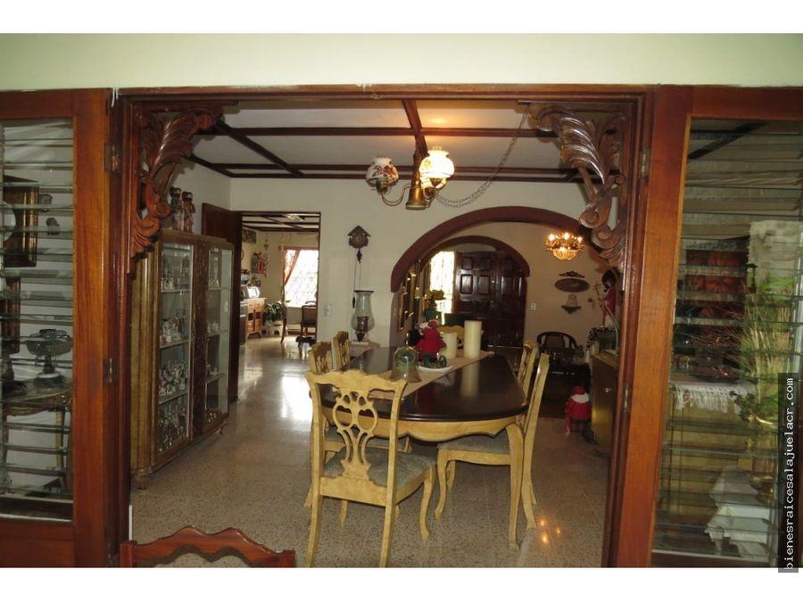 venta de casa alajuela centro la tropicana 525 m2 390000