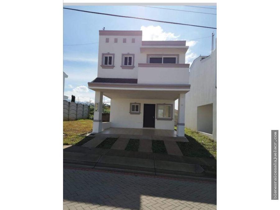 alquiler de casa en condominio el trapiche alajuela 425000