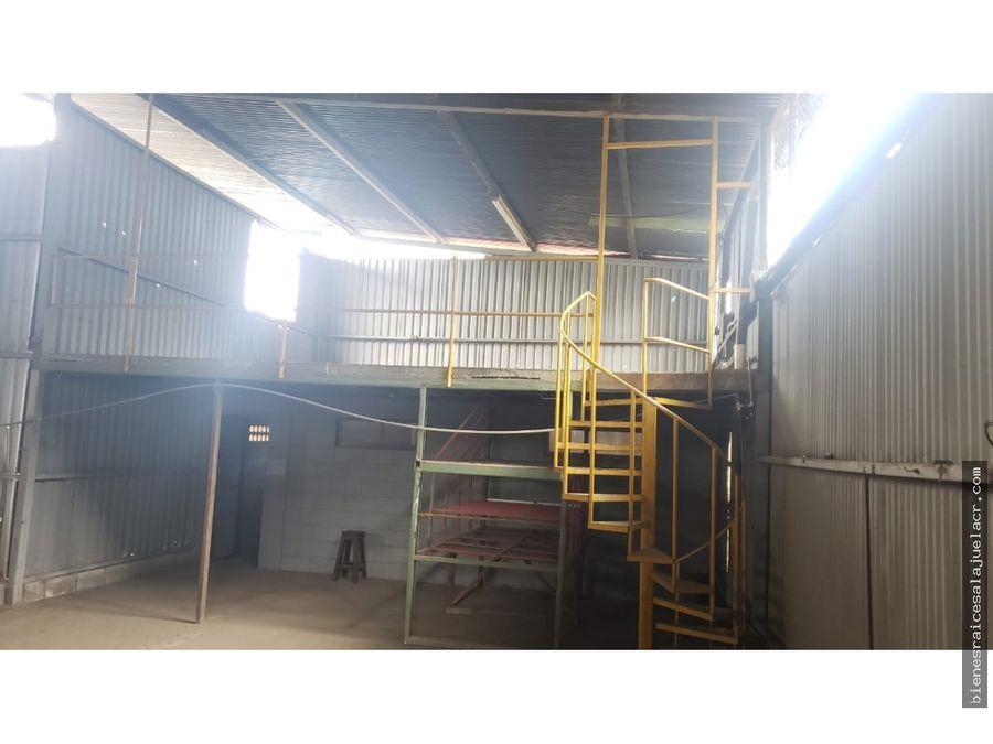 alquiler de bodega industrial el coyol de alajuela 4000