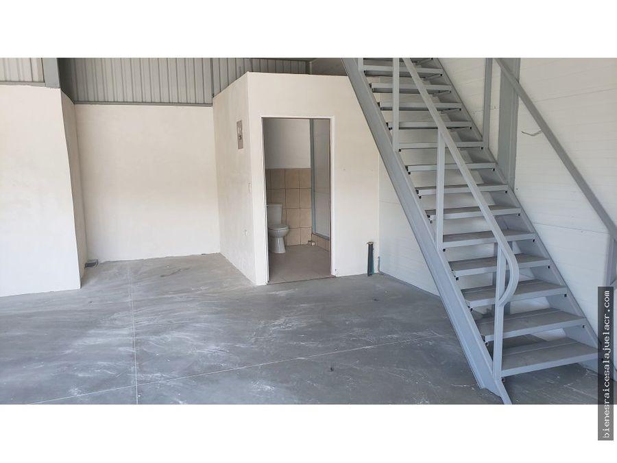 alquiler de bodega en villa bonita 100 m2 800