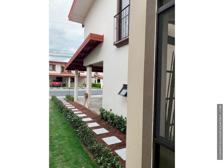 venta de casa vila del lago el coyol de alajuela 195 m2 130000