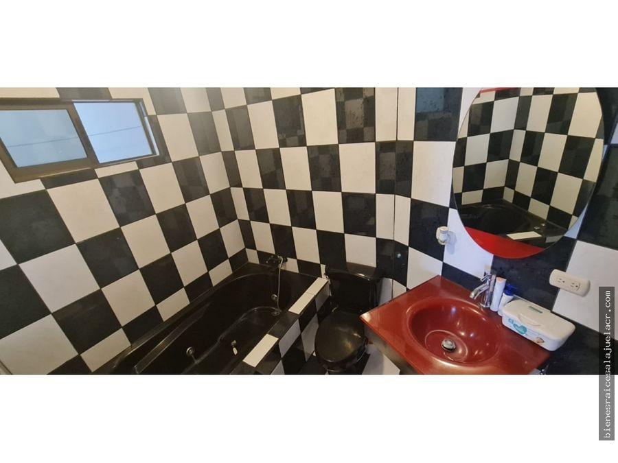 alquiler de casa en condominio en alajuela centro 140 m2 800