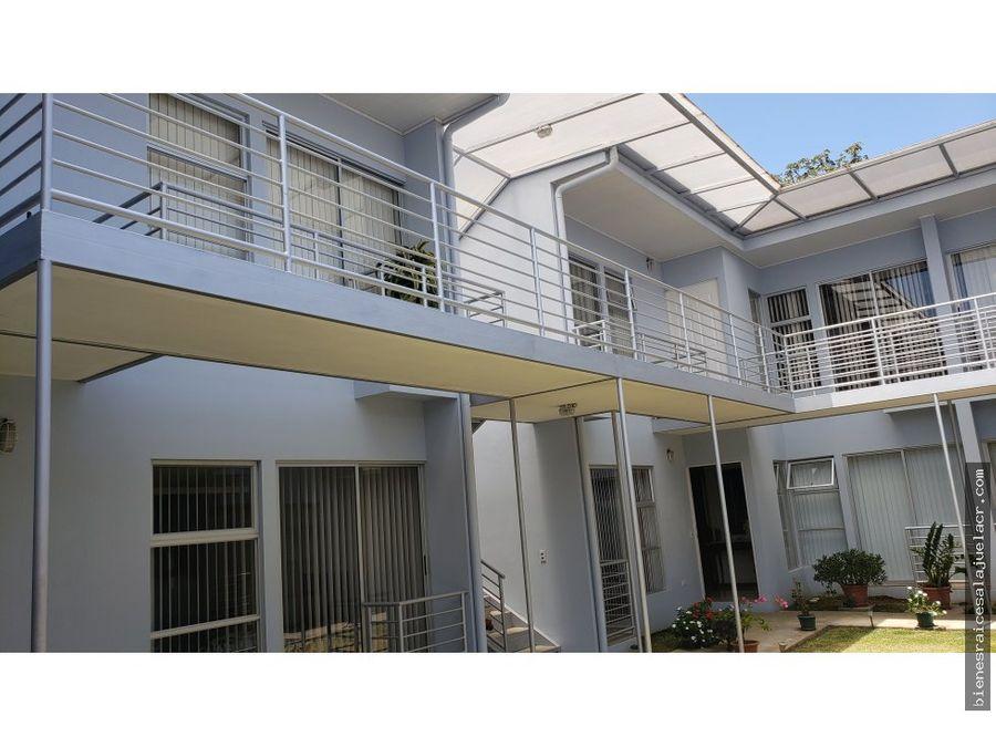 alquiler de apartamento en calle loria alajuela 250000