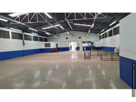 alquiler de bodega o local comercial en alajuela centro 450 m2