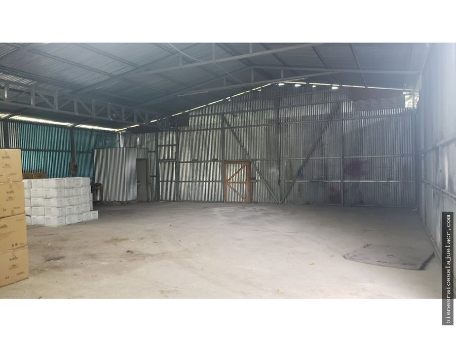 alquiler de bodega barrio san jose alajuela 300000