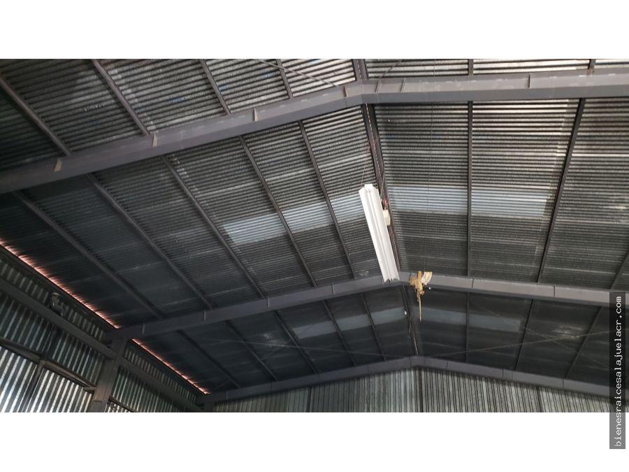 alquiler de bodega el coyol de alajuela 180 m2 800