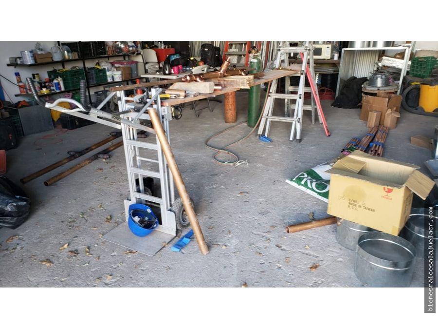 alquiler de bodega el roble de alajuela 80 m2 200000