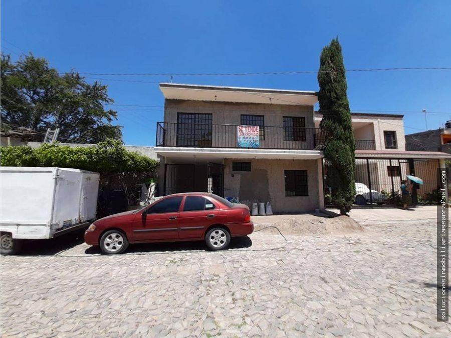casa en la colonia real en santa maria tequepexpan