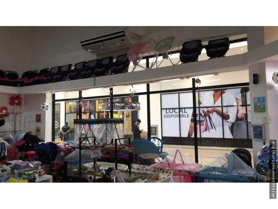 hermoso local en chiriqui mall
