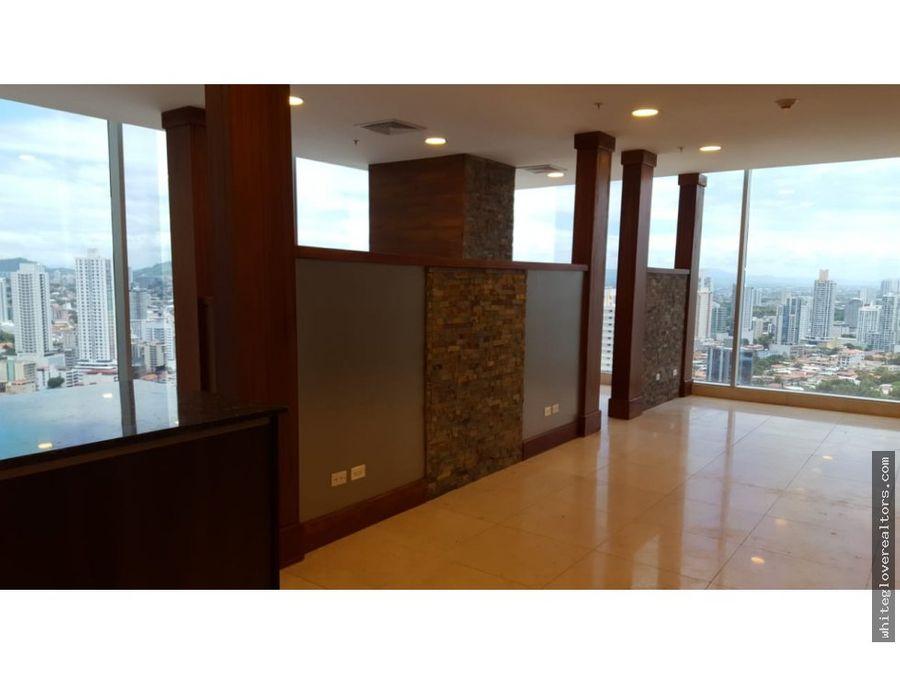 hermosa oficina en ph sortis business tower